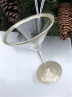 julekule champagneglass