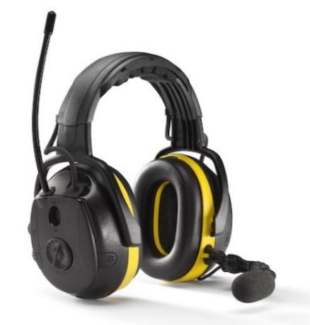 Hörselkåpor Hellberg Bluetooth, Hjässbygel