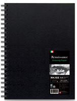 Kovakantinen piirustuslehtiö RH-103. A4, 60 arkkia, 90g