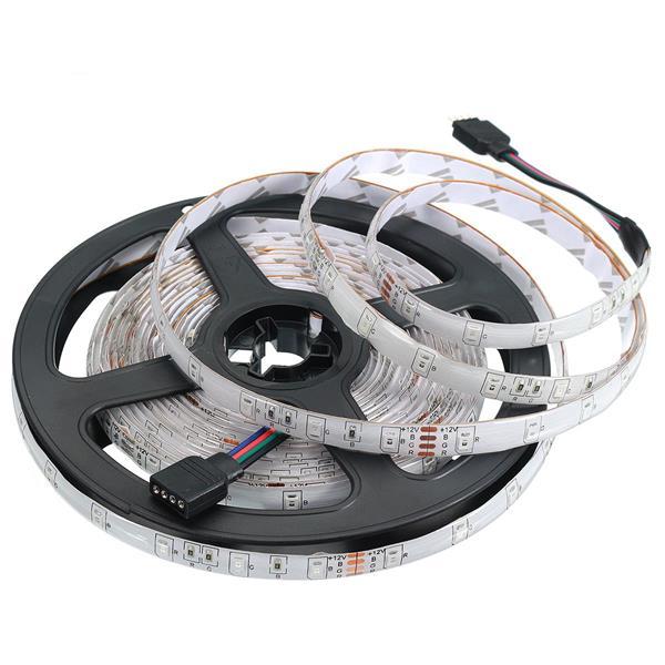 LED-Strip (5 meter) 12W/M Röd/Grön/Blå IP20 12V