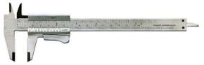 Skjutmått m. Knapplåsning, 150mm