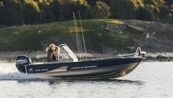 Linder 445 Catch + 30 ELPT + Garmin 92SV
