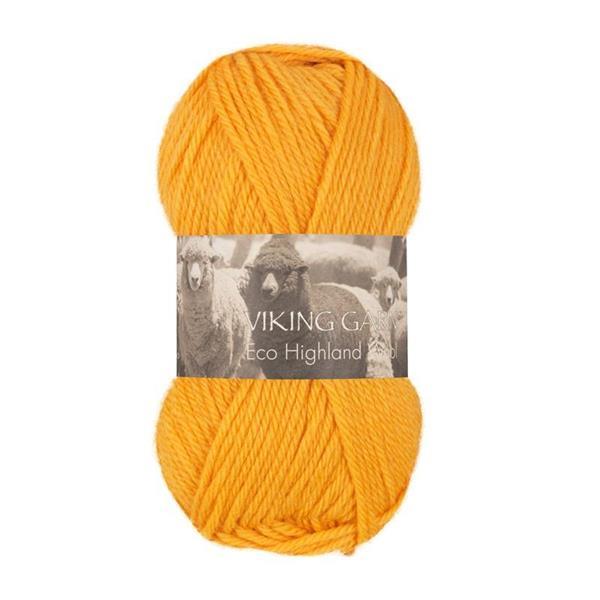 V Highland Eco Wool gul