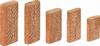 Dominobrickor   D 8x50/100 BU SB