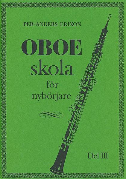 Oboeskola, del 3