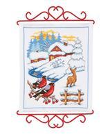Broderipakke - Vinterlandskap