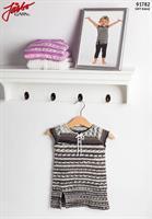 Babyklänning i Soft Raggi