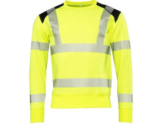 Sweatshirt Worksafe HiVis klass 3 Strl. 2XS