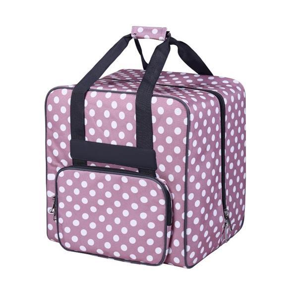 BabySnap saumurilaukku XL roosa/pilkullinen