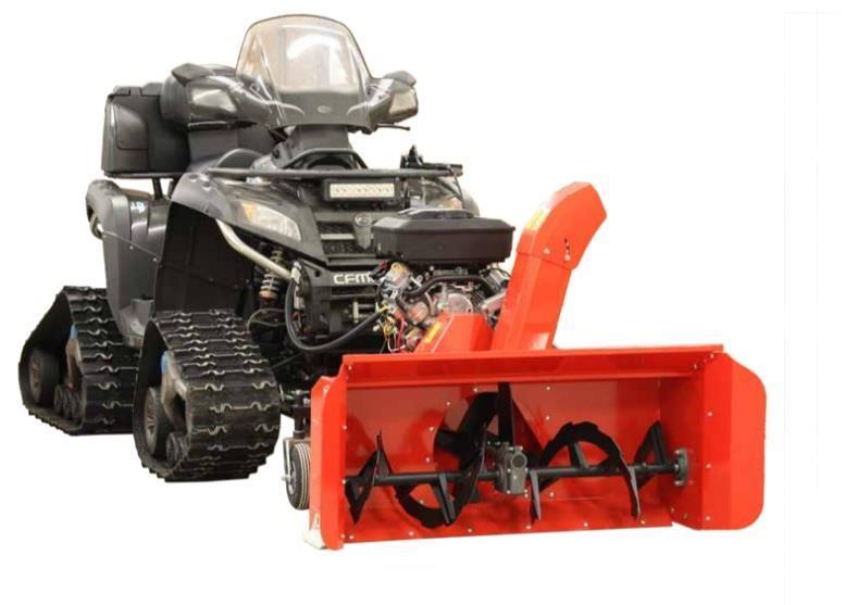 ATV Snöslunga 125 cm Iron Baltic