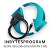 Inbyte av HEX-USB+CAN