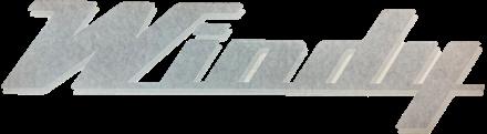 Windy logo / dekal 900x241mm