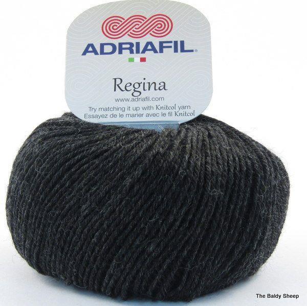 Regina Melange Anthracit Grey