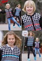 Barntröja och kofta i Junior