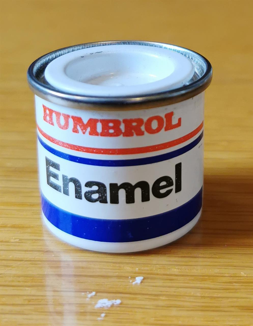 Humbrol Enamel 14ml Crimson