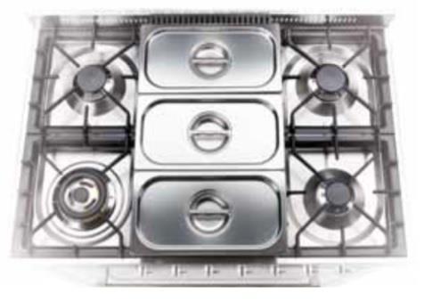 G/002/01 - 3-delt varmekar for modeller med Tepanyakiplate
