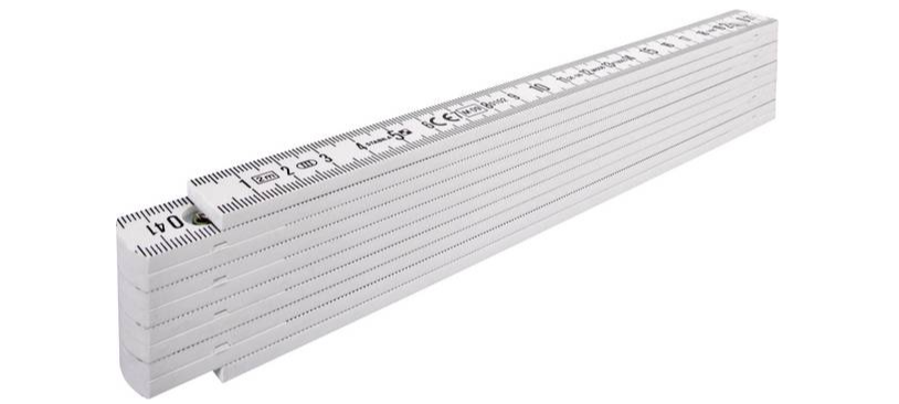 Meterstock Plast 2M med 90°