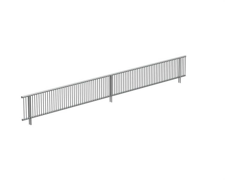Framkantsgaller trådhylla