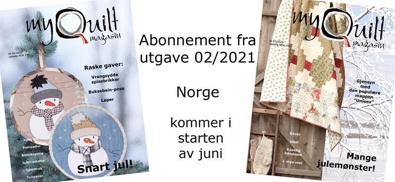 Abonnement-Norge fra utgave 2/2021