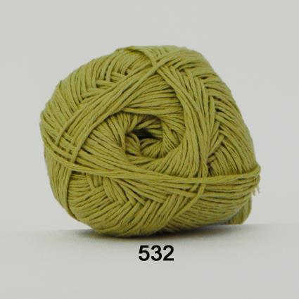 Green Cooton Linen Limegrön