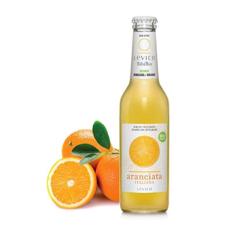 Levico Bio appelsin limonade, øko, 275ml