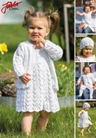 Klänning, kofta & mössa till baby iElise