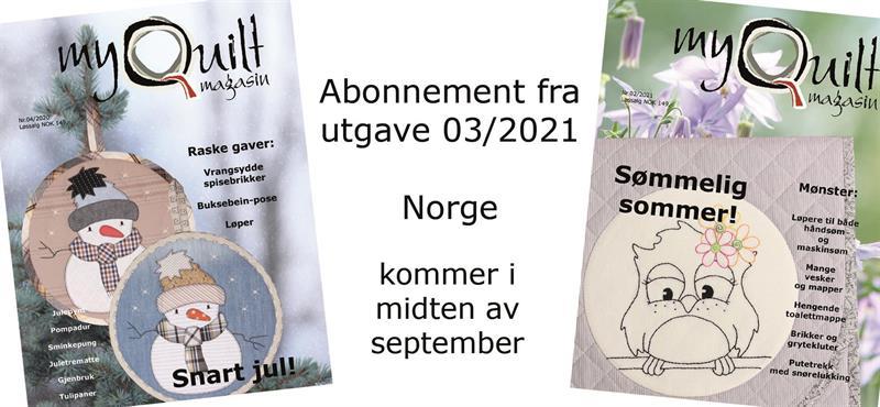 Abonnement-Norge fra utgave 3/2021