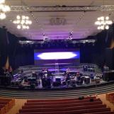 Pingstkyrkan Unite, 10m bredd x 3m höjd