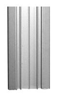 Dekorlist aluminium B=40 mm