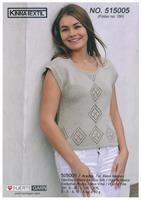 Kortärmad tröja i Arezzo Lin