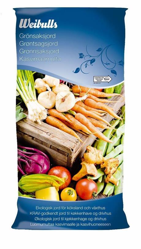 Grönsaksjord - KRAV