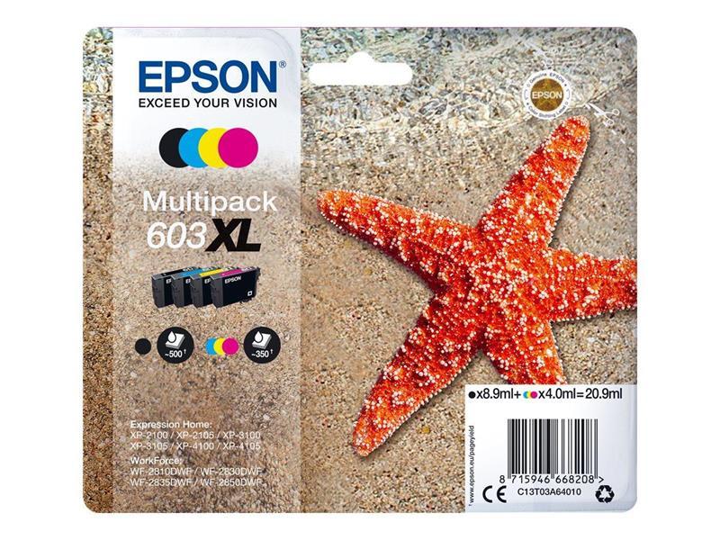 EPSON 603XL Multipack 4-colours