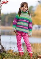 Patentstickad barntröja i Elise