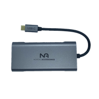 Nordic Accessories NOR-UH07-3 7-in-1 USB-C Dock