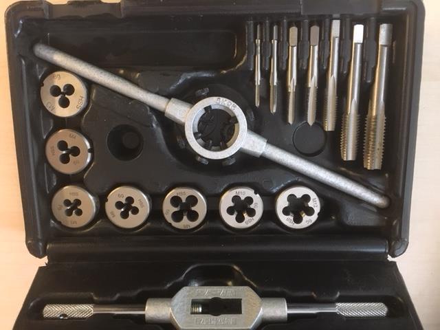 Gängverktygssats Alpen M3 - M12 16-del