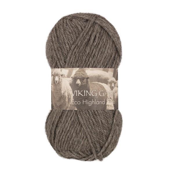 V Highland Eco Wool grå