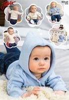 Babytröja och kofta med luva i Nova