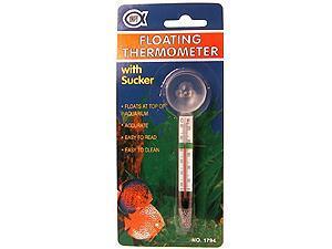 Glastermometer med sugfot