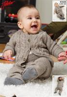 Babytröja ochn byxa i Llama Silk
