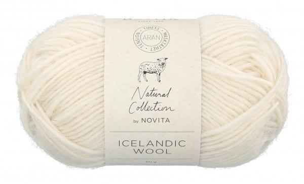 Icelandic Wool Naturvit