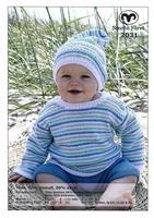 Babytröja, shorts o mössa i Tilda