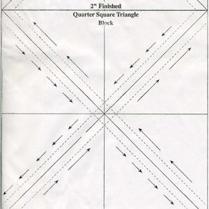 Triangles on a Roll, triangelpapir