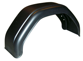 Skärm, plast, B=200 mm (hö/vä)