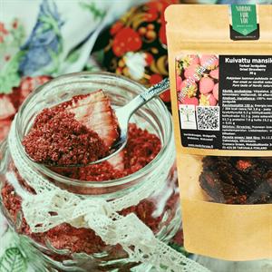 Kuivattu mansikka 25 g