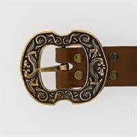 100220B Belte: brunt / brown