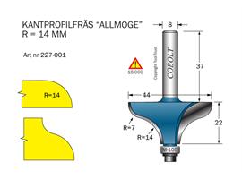Kantprofilfräs Allmoge D=44