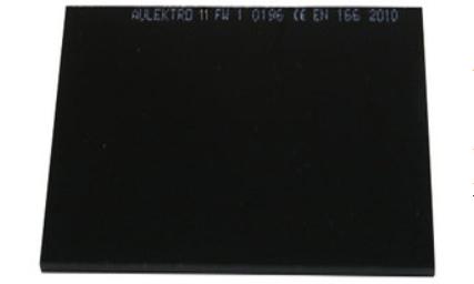 Svetsglas 110x90 10-DIN