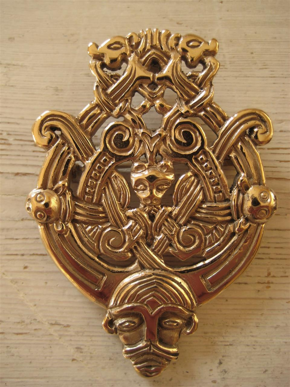 Viking brosje brooch