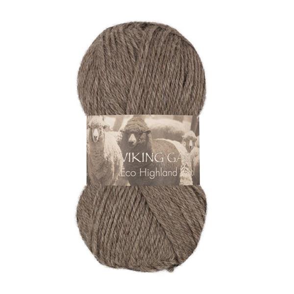 V Highland Eco Wool brunmel