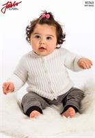 Babykofta i Soft Raggi